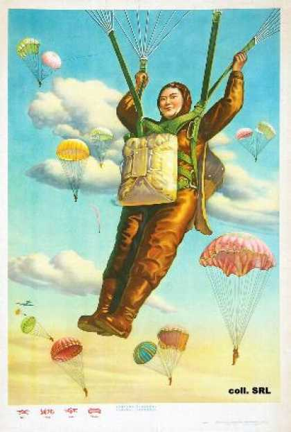 Women parachuters (1958)