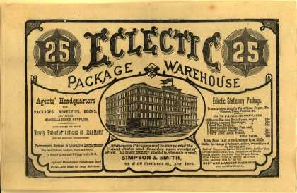 Simpson & Smith's Eclectic packages – Eclectic Package Warehouse