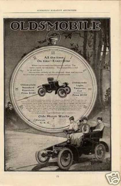 Oldsmobile Cars (1904)