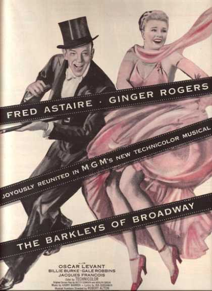 The Barkleys of Broadway (Fred Astaire & Ginger Rogers) (1949)