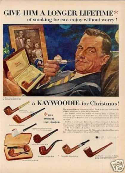 Kaywoodie Pipes (1954)
