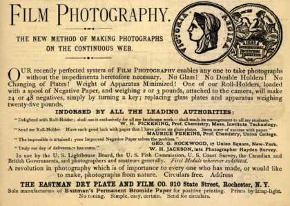 Kodak&#8217;s Roll Holder &#8211; Film Photography (1886)