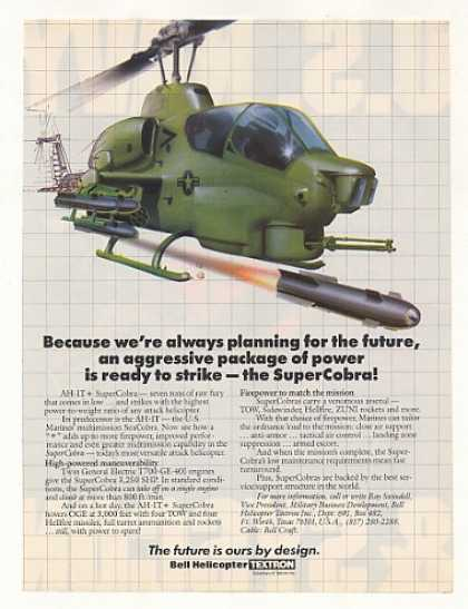 Bell AH-1T+ SuperCobra Helicopter (1985)