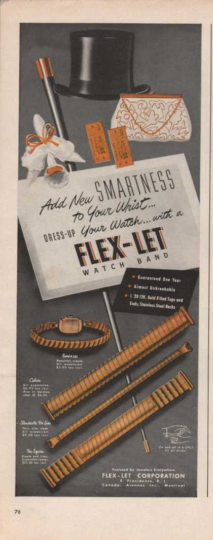 Flex Let Watch Band (1949)