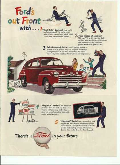 Thers a Ford Car In Your Future (1946)