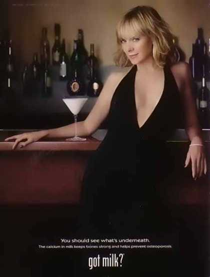 Kim Cattrall – GOT MILK (2002)