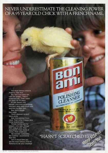 "Bon Ami ""95 Year Old Chick With a French Name"" (1977)"