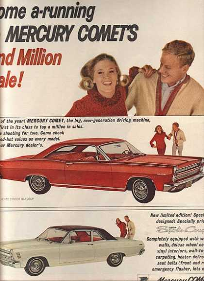 Ford's Mercury Comet (1966)