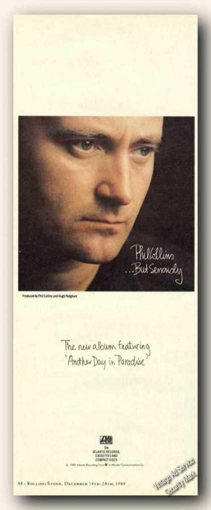 Phil Collins Picture Album Promo (1989)
