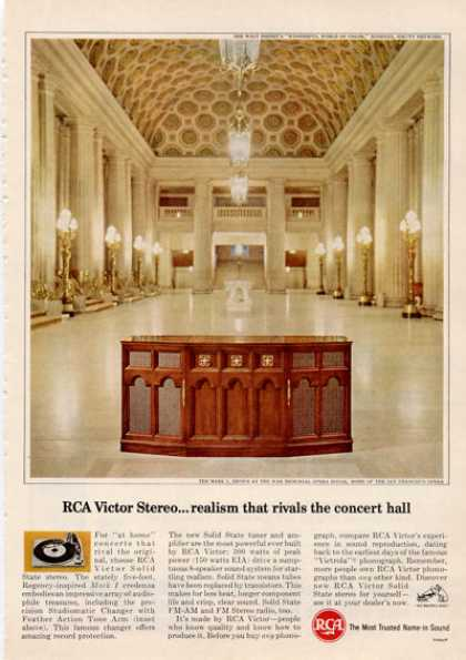 Rca Victor Stereo War Memorial Opera House (1964)