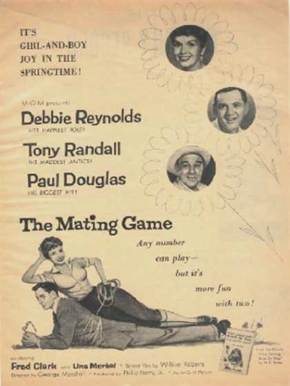 The Mating Game (Debbie Reynolds and Tony Randall) (1959)