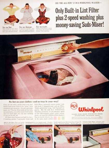 RCA Whirlpool Washer (1957)