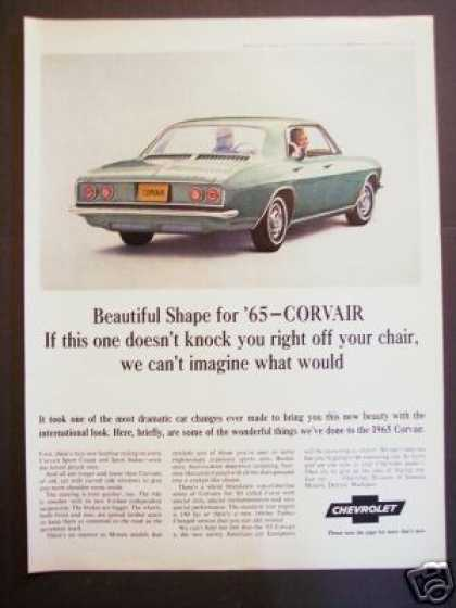 Original Chevrolet Corvair for '65 Car (1964)