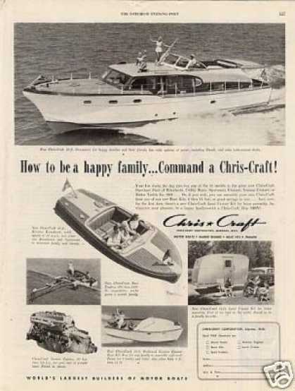 Chris Craft Boats (1953)