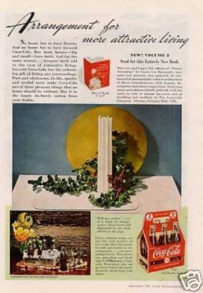 "Coca-cola Ad ""Arrangement For... (1941)"
