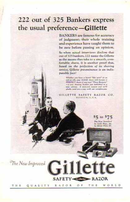 Gillette Razor – Boston, U.S.A. (1926)