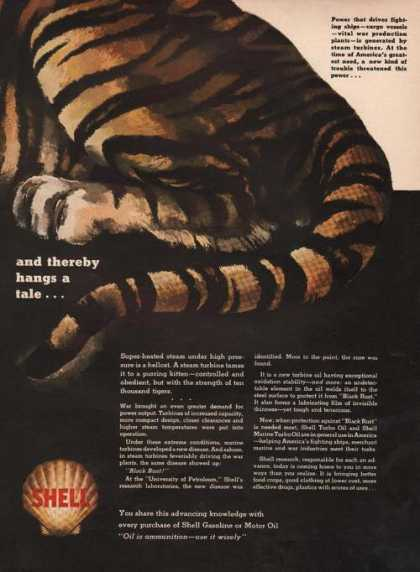 Shell Gasoline & Oil Thereby Hangs a Tale (1942)