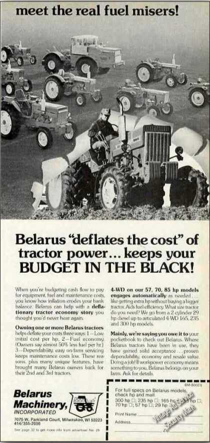 "Belarus Tractors ""Deflates the Cost"" of Power (1980)"