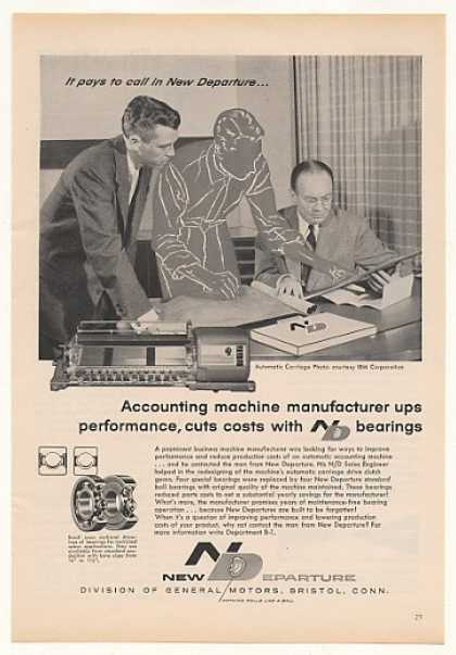 IBM Accounting Machine Carriage New Departure (1959)