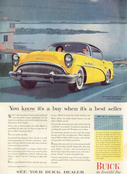 Buick Century at the Lake (1954)