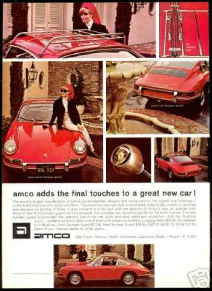 Porsche 911 912 AMCO Car Accessories Photo (1967)