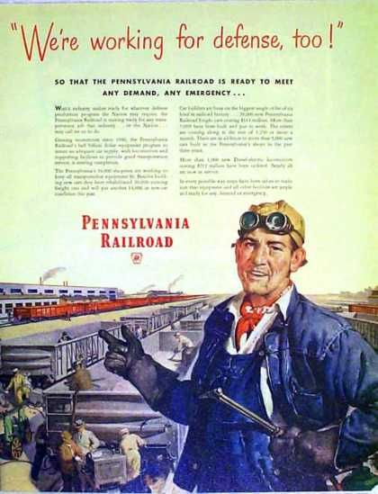 Pennsylvania Railroad – We're working for defense, too (1951)