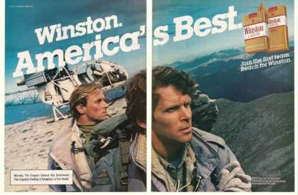 '83 Winston Lights Mountain Patrol Men Helicopter 2P (1983)
