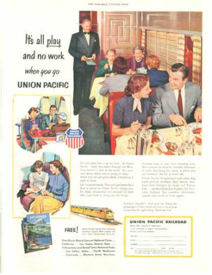 Union Pacific Railroad Dining Car (1953)