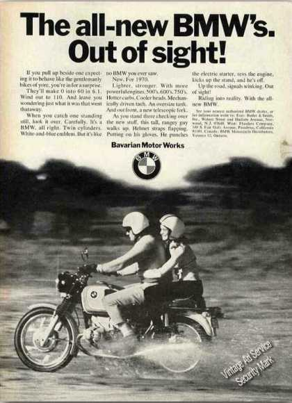 "All-new Bmw Motorcycle ""Out of Sight!"" (1970)"