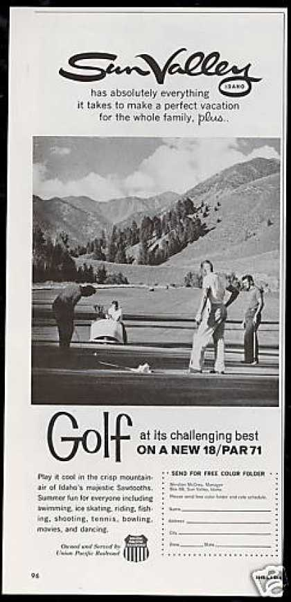 Sun Valley Idaho New Golf Course Photo (1963)