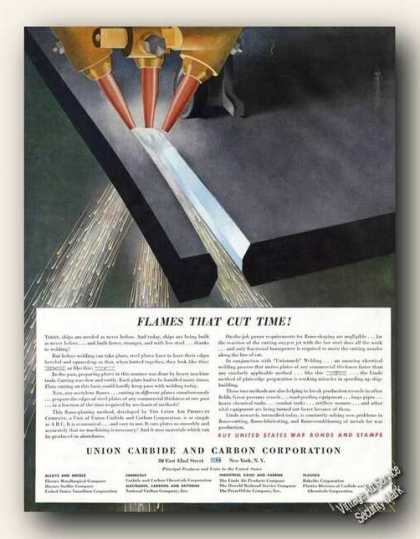 Wwii Flame-cutting/f (1943)