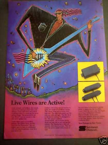 Seymour Duncan Live Wire Pickups Music (1988)