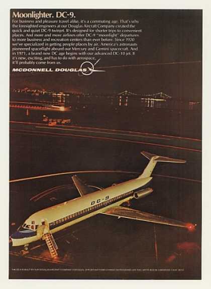 McDonnell Douglas DC-9 Aircraft Moonlighter (1969)