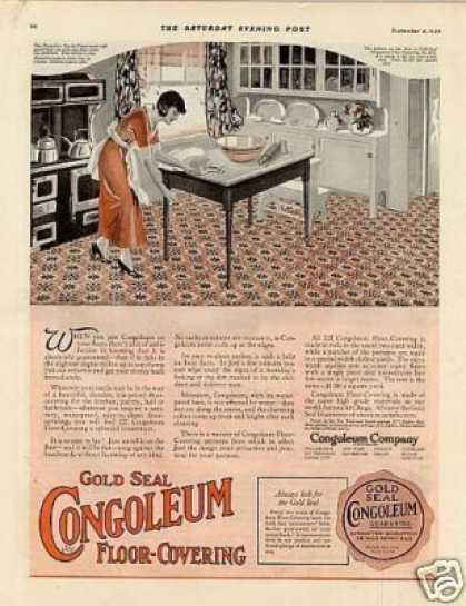 Congoleum Floor Covering Color (1920)