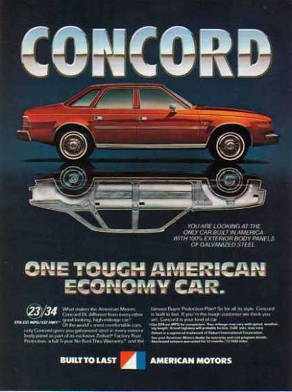 American Motors Concord Car – Red (1981)
