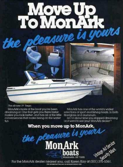 Monark Boats Monticello Ar 19' Targa Photos (1985)
