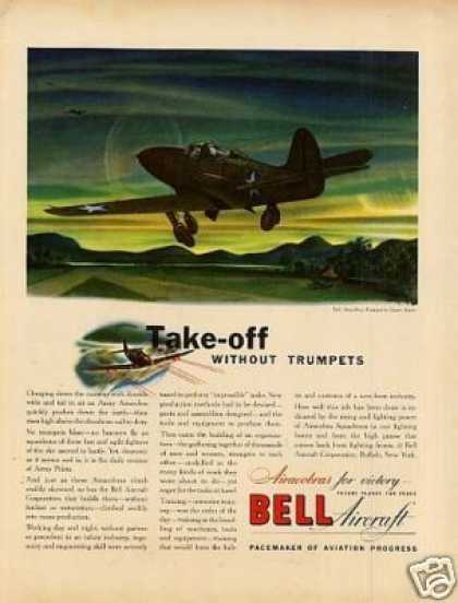 Bell Aircraft Ad Airacobra (1942)