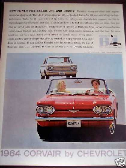 Chevrolet Corvair for '64 Classic Car (1963)