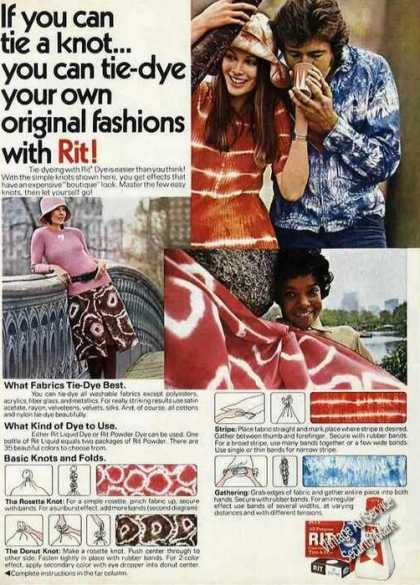 Tie-dye Your Own Original Fashions With Rit (1971)