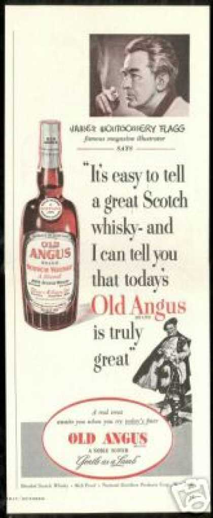 Old Angus Scotch James Montgomery Flagg (1950)