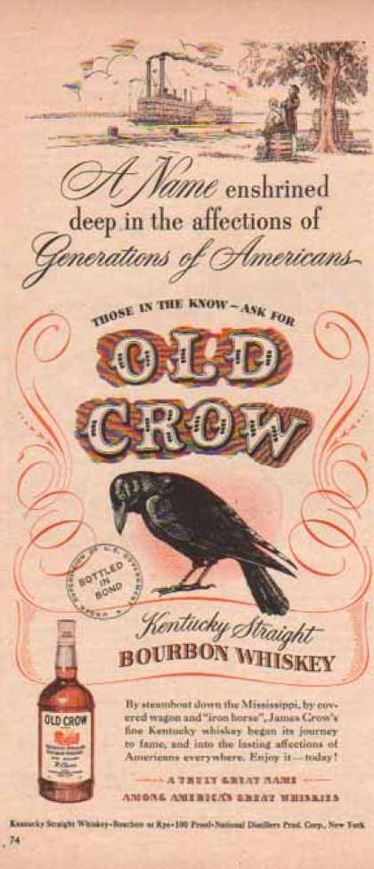Old Crow – Steamboat down the Mississippi (1948)