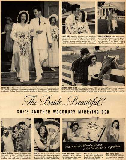 Woodbury's Facial Soap – The Bride...Beautiful! She's Another Woodbury Marrying Deb (1949)