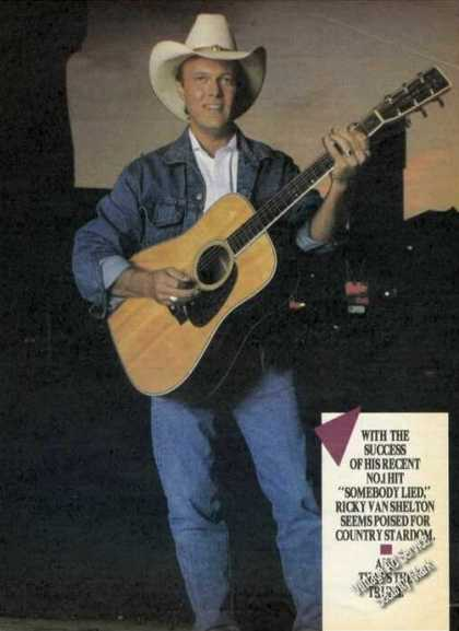 Ricky Van Shelton Photo Country Music (1988)