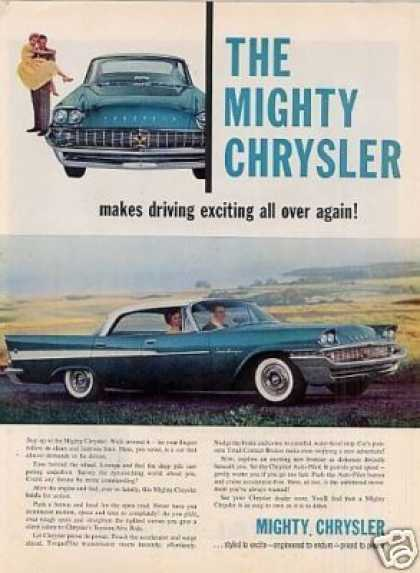 Chrysler Saratoga Car (1958)