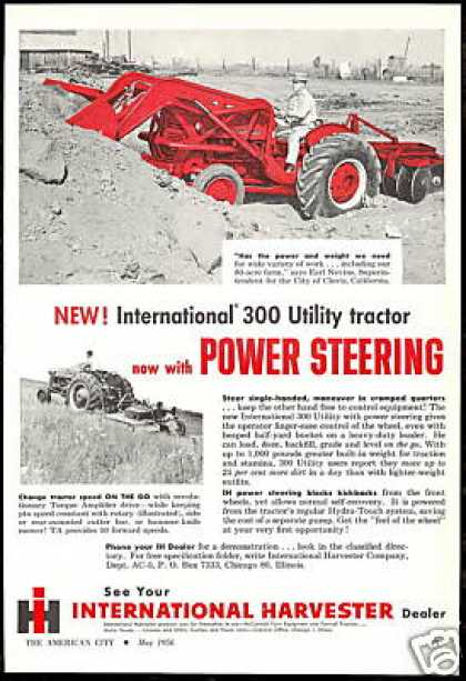 IHC International Harvester 300 Utility Tractor (1956)