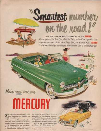 Smartest Number On the Road Mercury (1949)