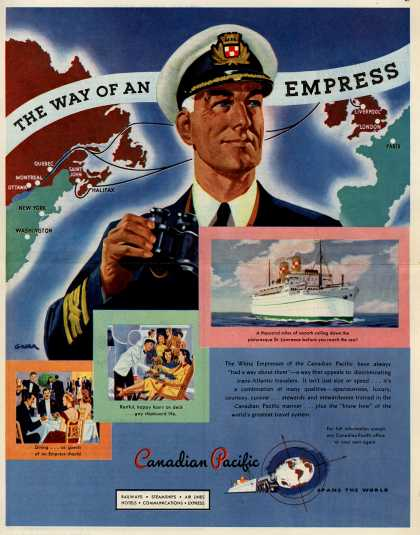 Canadian Pacific – The Way of an Empress (1947)