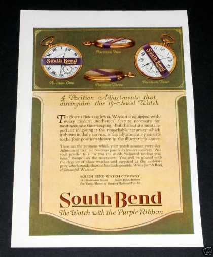 South Bend Watches, 19 Jewel (1918)