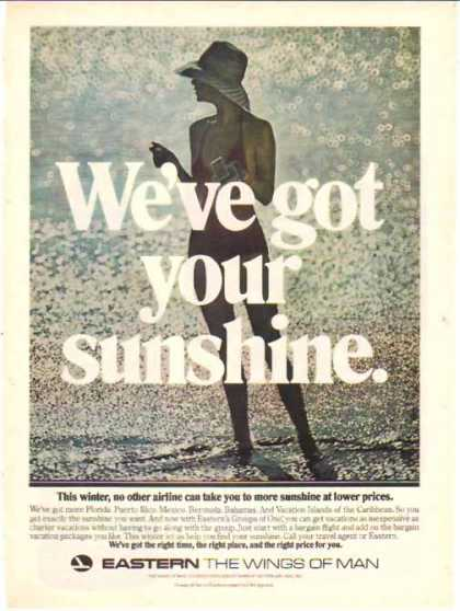 Eastern Air Lines – We've Got Your Sunshine (1976)