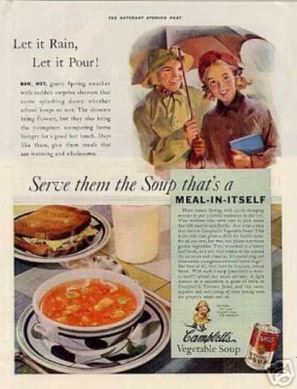 Campbell's Vegetable Soup Color (1938)